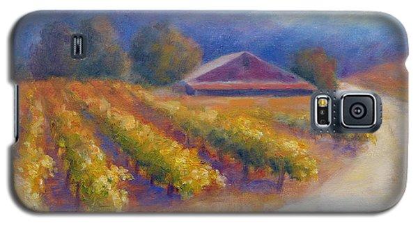 Red Barn Vineyard Galaxy S5 Case