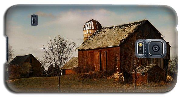 Red Barn - Waupaca County Wisconsin Galaxy S5 Case