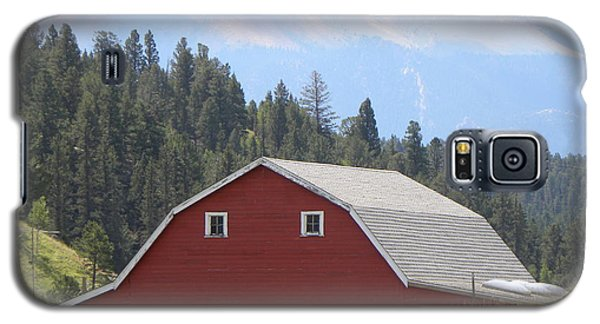 Barn - Pikes Peak Burgess Res Divide Co Galaxy S5 Case
