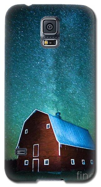 Red Beauty's Milky Way Galaxy S5 Case