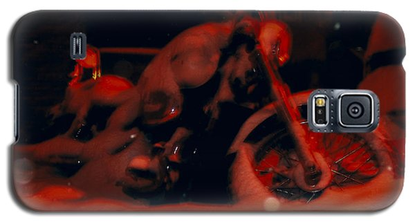 Red Bike Galaxy S5 Case