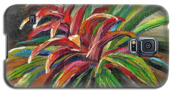 Red Bromiliad Galaxy S5 Case