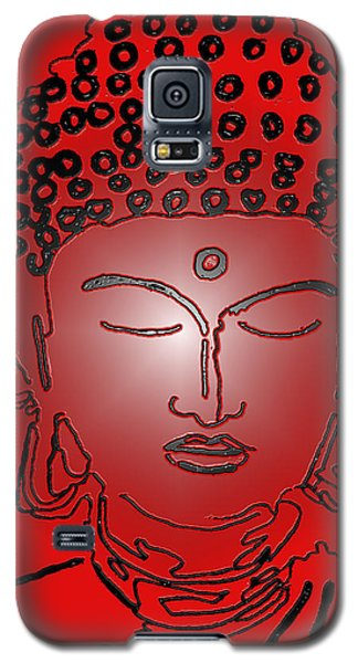 Red Buddha Galaxy S5 Case