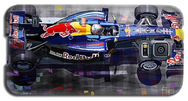 Car Galaxy S5 Case - Red Bull Rb6 Vettel 2010 by Yuriy Shevchuk