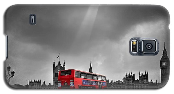 Red Bus Galaxy S5 Case