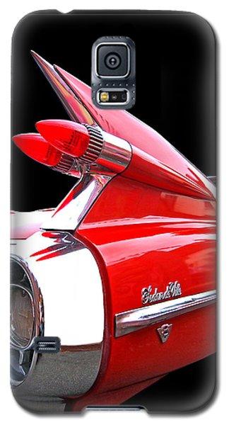 Red Cadillac Sedan De Ville 1959 Tail Fins Galaxy S5 Case