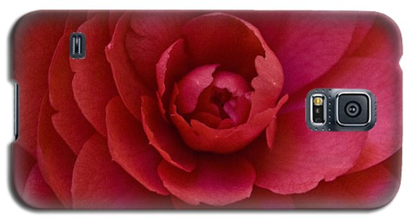 Red Camellia Galaxy S5 Case