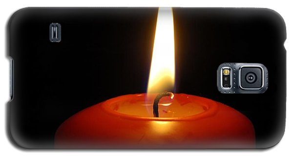 Red Candle Burning Galaxy S5 Case