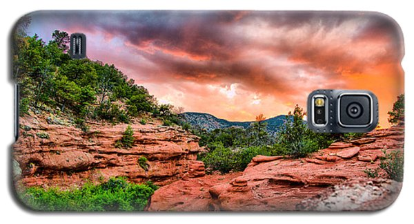Red Canyon Galaxy S5 Case