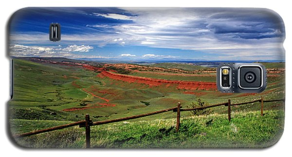 Red Canyon Wyoming Galaxy S5 Case