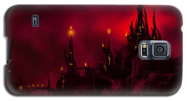 Red Castle Galaxy S5 Case by James Christopher Hill
