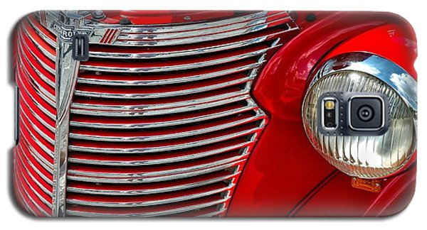 Red Chevrolet  Galaxy S5 Case by Allen Carroll