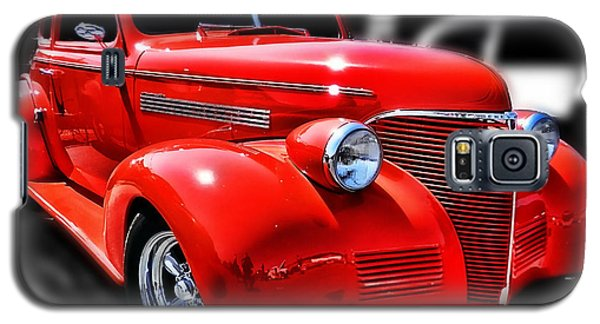 Red Chevy Hot Rod Galaxy S5 Case by Victor Montgomery