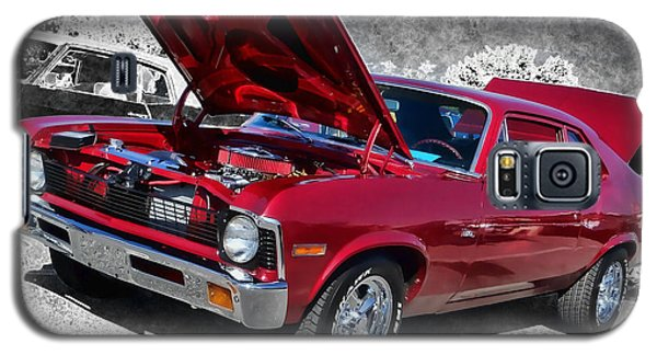 Red Chevy Nova Galaxy S5 Case by Victor Montgomery