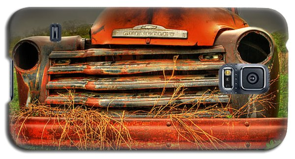 Red Chevy Galaxy S5 Case
