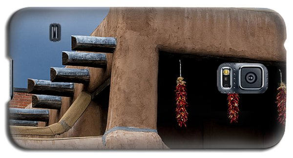 Red Chile Ristras Santa Fe Galaxy S5 Case by Carol Leigh