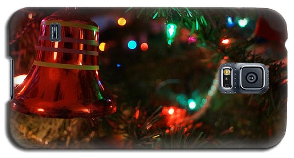 Red Christmas Bell Galaxy S5 Case by Kerri Mortenson