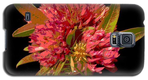 Red Clover 1 Galaxy S5 Case by Martin Howard