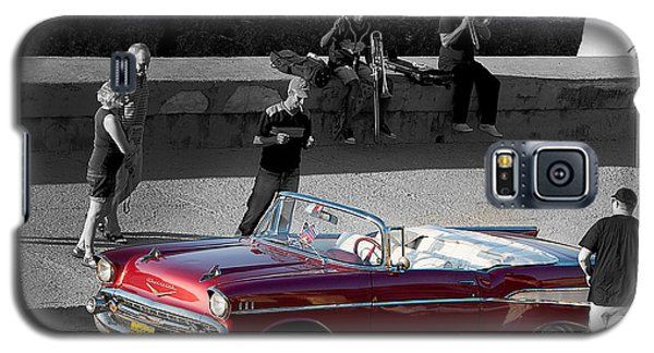Red Convertible II Galaxy S5 Case by Patrick Boening