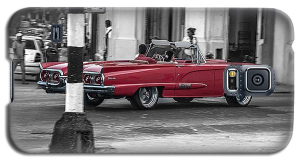 Red Convertible Galaxy S5 Case by Patrick Boening