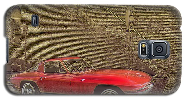 Red Corvette Galaxy S5 Case