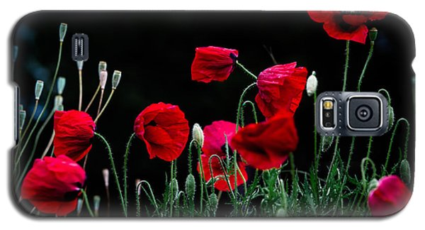 Galaxy S5 Case featuring the photograph Red Dance by Edgar Laureano