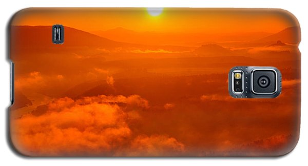 Red Dawn On The Lilienstein Galaxy S5 Case