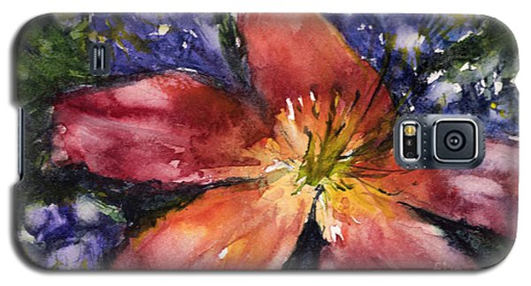 Red Daylily Galaxy S5 Case