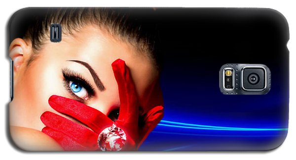 Red Desire Galaxy S5 Case by Karen Showell