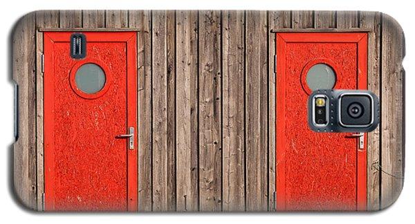 Red Door Or Red Door Galaxy S5 Case