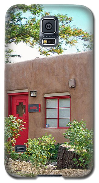 Galaxy S5 Case featuring the photograph Red Door by Sylvia Thornton