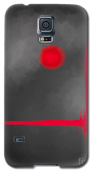 Red Dot Galaxy S5 Case