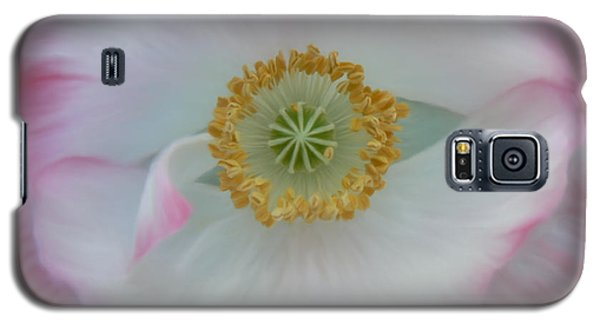 Red Eye Poppy Galaxy S5 Case by Barbara St Jean
