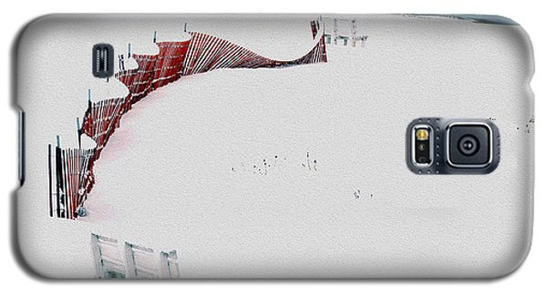 Red Fence Galaxy S5 Case