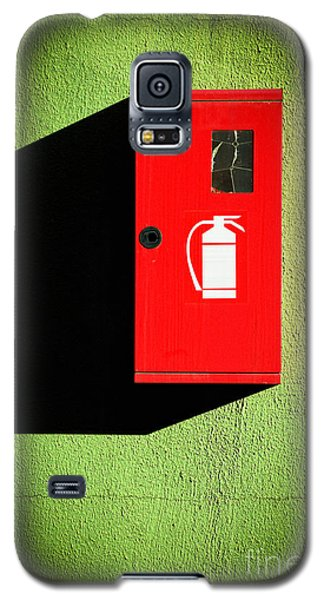 Red Fire Extinguisher Box Galaxy S5 Case
