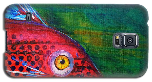 Red Fish Galaxy S5 Case