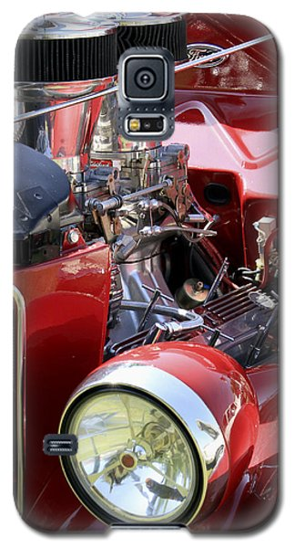 Red Ford Galaxy S5 Case