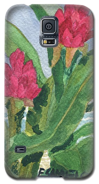 Red Ginger Galaxy S5 Case