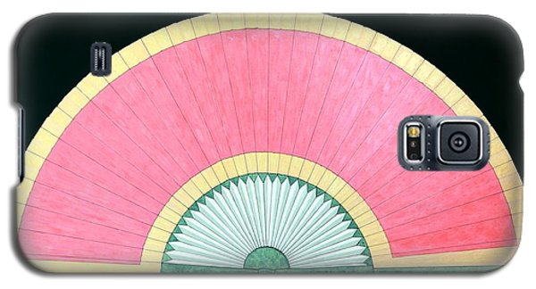 Red Gold Fan Galaxy S5 Case by Thomas Gronowski