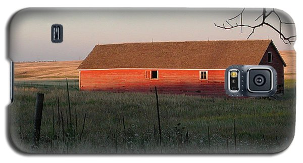Red Granary Barn Galaxy S5 Case