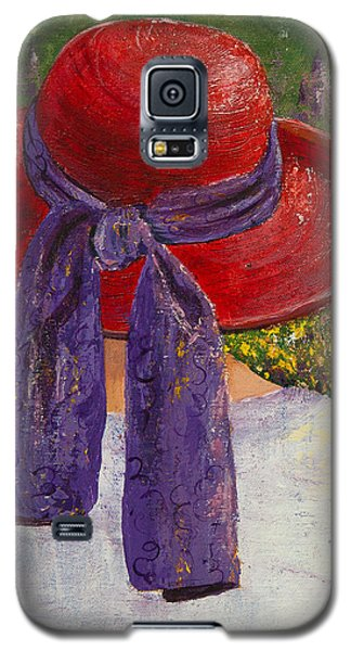 Red Hat Garden Galaxy S5 Case