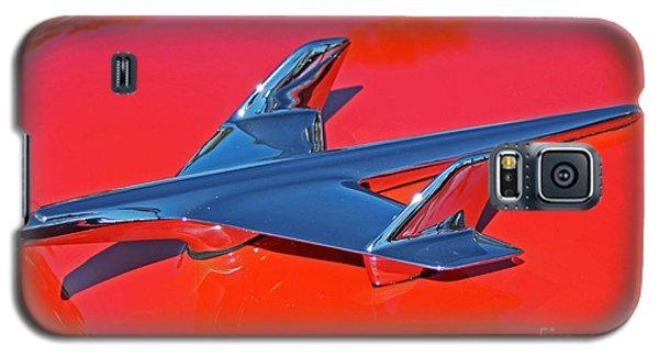 Red Hawk Galaxy S5 Case by Dodie Ulery