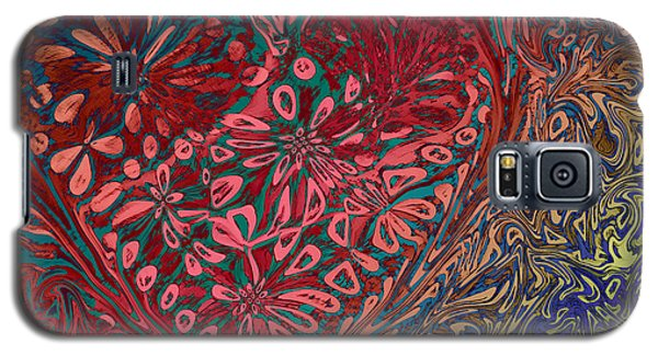 Red Heart Galaxy S5 Case by David Pantuso