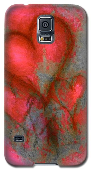 Red Hearts Galaxy S5 Case