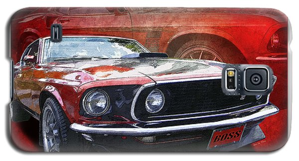 Galaxy S5 Case featuring the photograph  Boss Mustang by Kenneth De Tore
