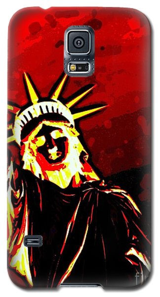 Red Hot Liberty Galaxy S5 Case by Andy Heavens