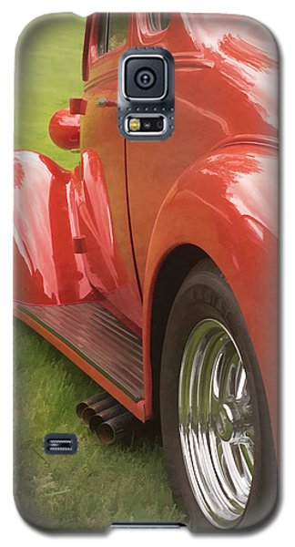 Galaxy S5 Case featuring the photograph Red Hot Rod by Wayne Meyer