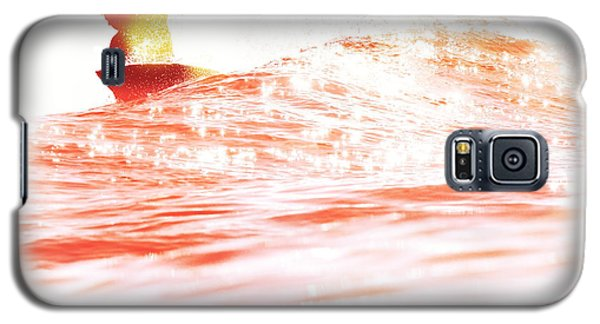 Red Hot Surfer Galaxy S5 Case by Paul Topp