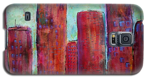Red In The City Galaxy S5 Case
