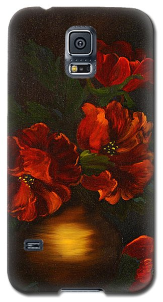 Red Is My Color Galaxy S5 Case by J Cheyenne Howell